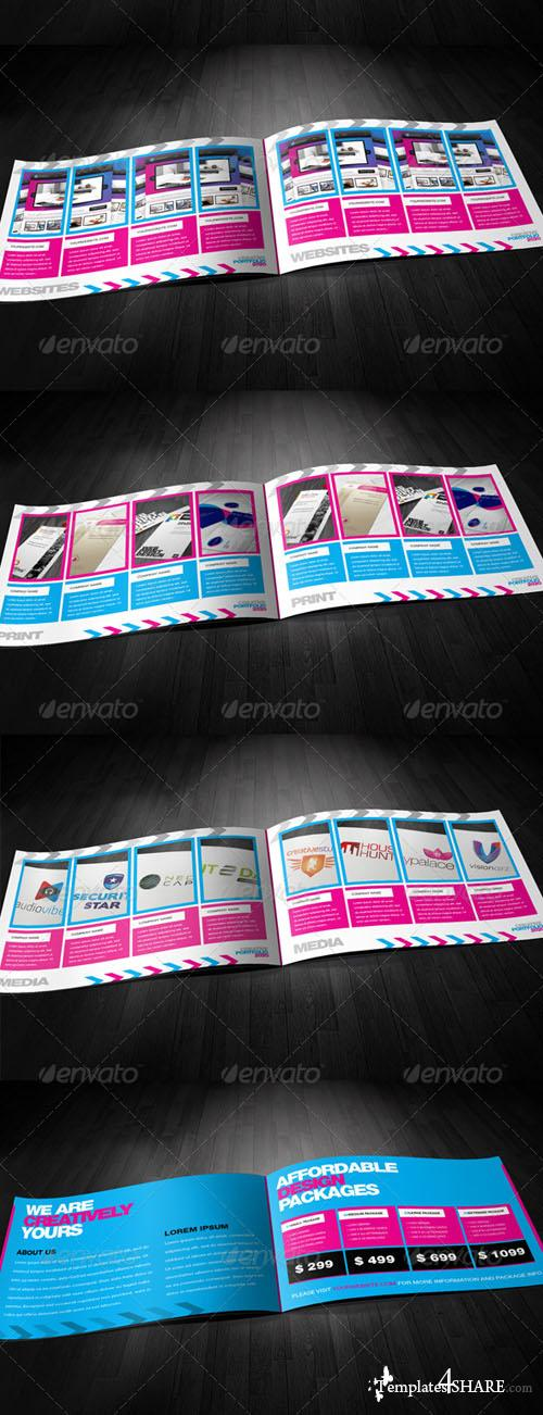GraphicRiver RW Modern Design Agency Indesign Portolfio - REUPLOAD
