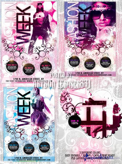GraphicRiver Fashion Week Flyer - REUPLOAD