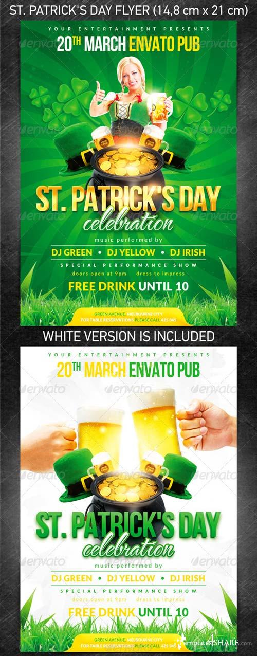 GraphicRiver St. Patrick's Day Flyer