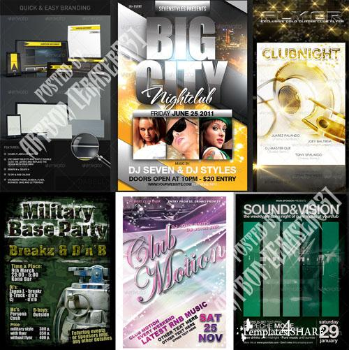 GraphicRiver Flyers Templates Pack 1 - REUPLOAD