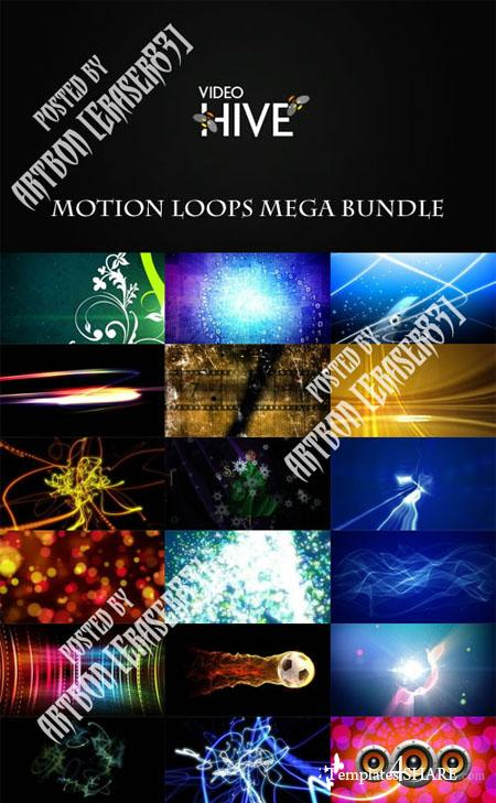 Videohive Motion Loops Mega Bundle
