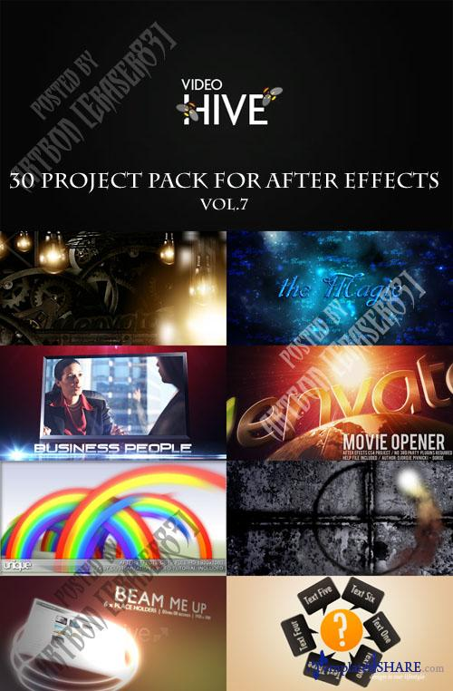 30 Project Pack for After Effects Vol.7 (Videohive) - REUPLOAD