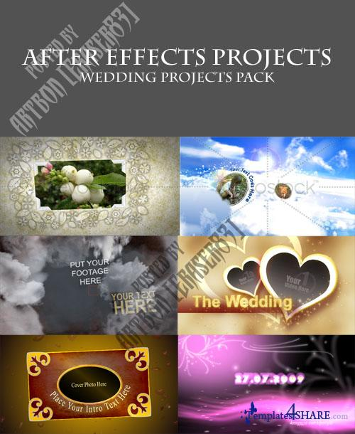 Projects Pack for After Effects - Wedding Collection