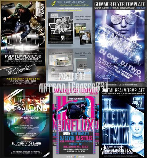 GraphicRiver Flyers Templates Pack 2 - REUPLOAD