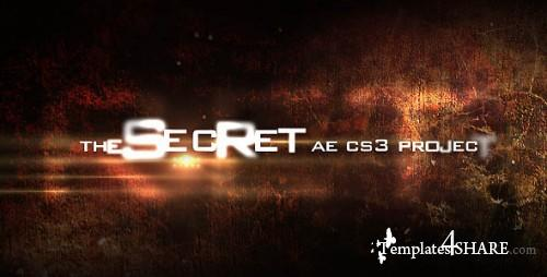 The Secret - Project for After Effects (Videohive) - REUPLOAD