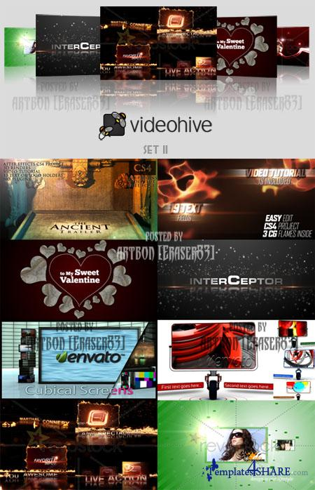 Videohive Projects Pack - Set 11 - REUPLOAD