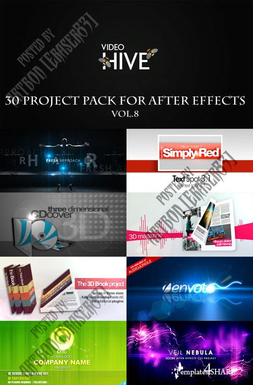 30 Project Pack for After Effects Vol.8 (Videohive) - REUPLOAD