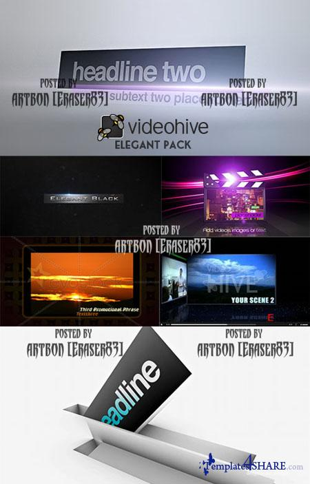 Videohive Projects Pack - Elegant Pack - REUPLOAD