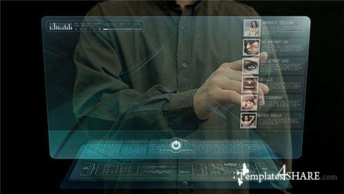 hologram template photoshop  Holographic touch - Project for After Effects (Videohive ...