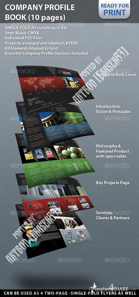 GraphicRiver Professional Company Profile Brochure (10 pages) - REUPLOAD