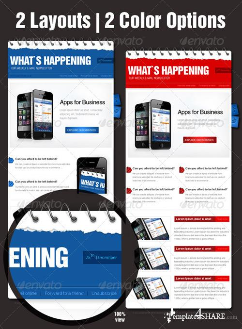 GraphicRiver Business eNewsletter Design