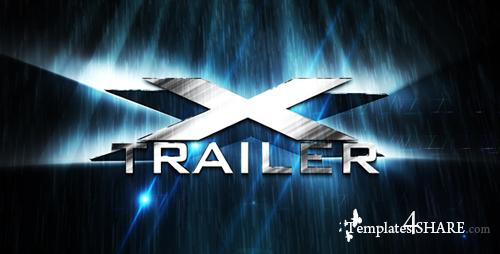 X Trailer - Project for After Effects (Videohive) - REUPLOAD
