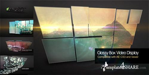 Glossy Box Video Display - Project for After Effects (Videohive)