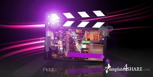 Elegant Movie Clapper AECS3 v2 - Projects for After Effects (Videohive)