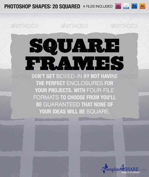 GraphicRiver 20 Squared Frames
