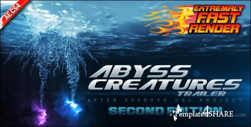 Abyss Creatures Trailer - Projects for After Effects (Videohive) - REUPLOAD