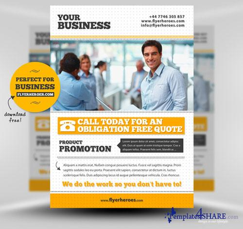 Business Flyer Template (PSD)