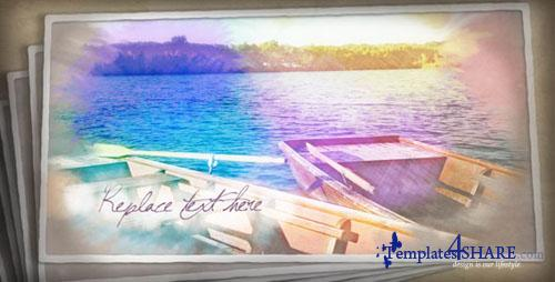Painted Postcards - Project for After Effects (Videohive)