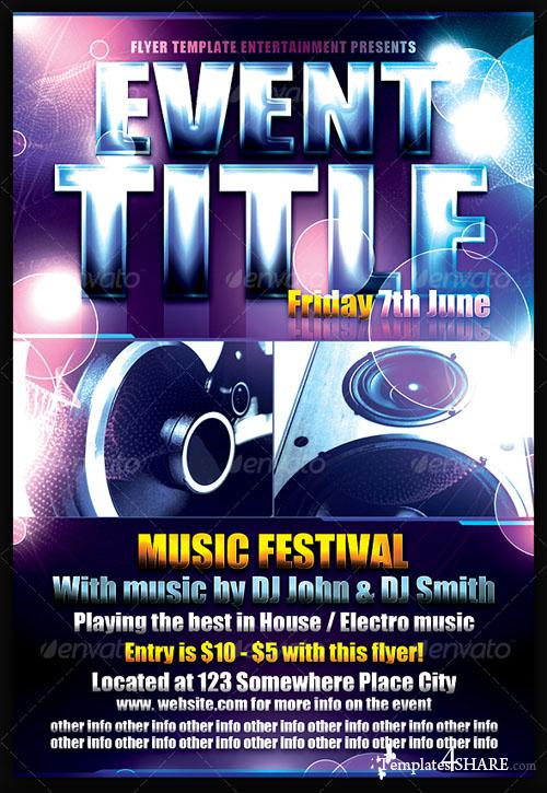 GraphicRiver Event Flyer Template - REUPLOAD
