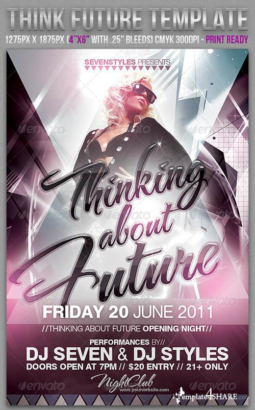 GraphicRiver Thinking Future Flyer Template - REUPLOAD