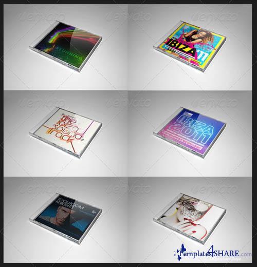 GraphicRiver Professional Album Mockup - REUPLOAD