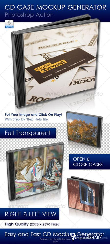 GraphicRiver CD Case Mockup Generator - REUPLOAD