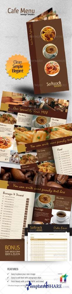 GraphicRiver Cafe Menu Indesign Template - REUPLOAD