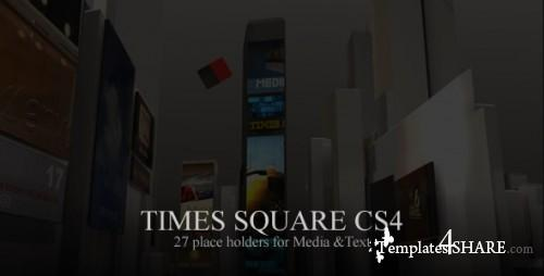 Times Square CS4 - Projects for After Effects (Videohive) - REUPLOAD