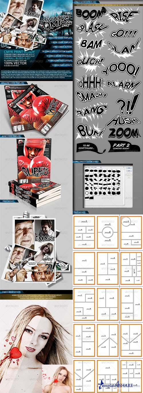 GraphicRiver Advance Comics Publication Bundle