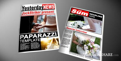 Paparazzi Tabloid Newspaper - Projects for After Effects (VideoHive) - REUPLOAD