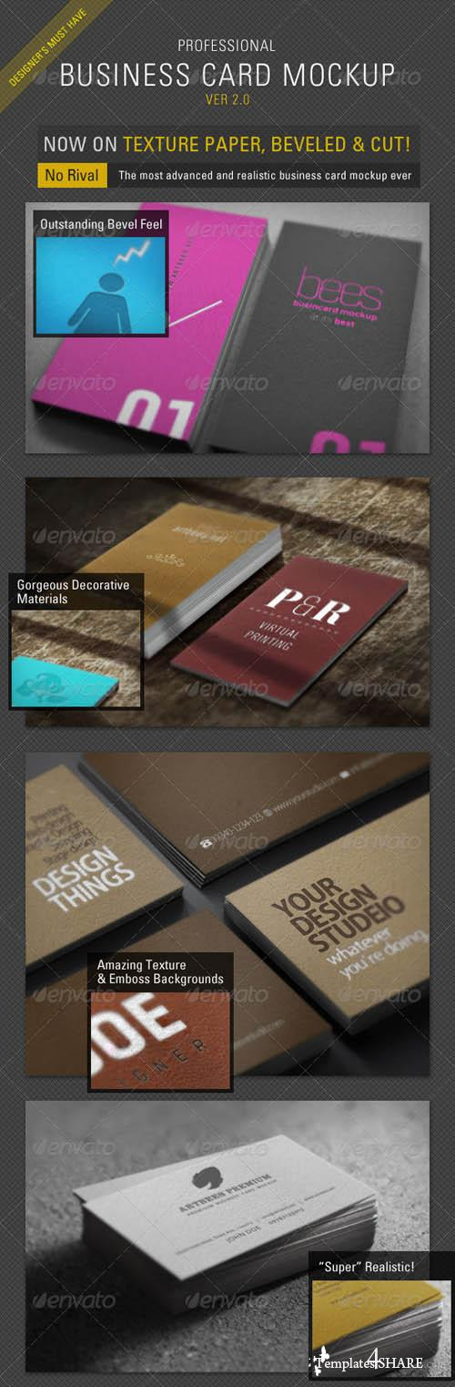 GraphicRiver Business Card Mockup Pro - ver 2.0