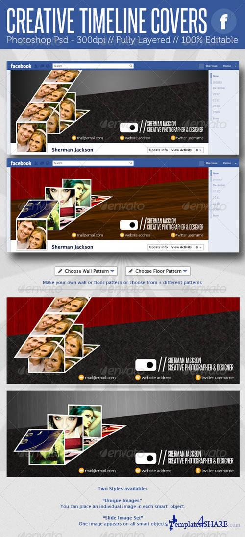 GraphicRiver Creative Facebook Timeline Covers
