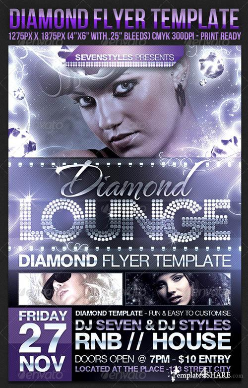 GraphicRiver Diamond Flyer Template - REUPLOAD