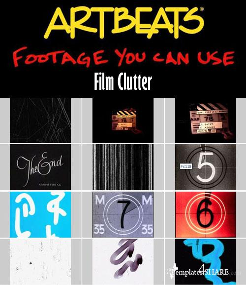 Artbeats Effects: Film Clutter (PAL) - REUPLOAD