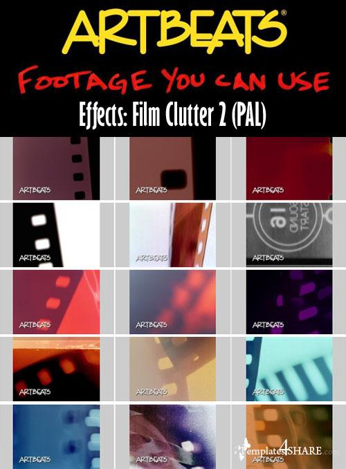 Artbeats Effects: Film Clutter 2 (PAL) - REUPLOAD