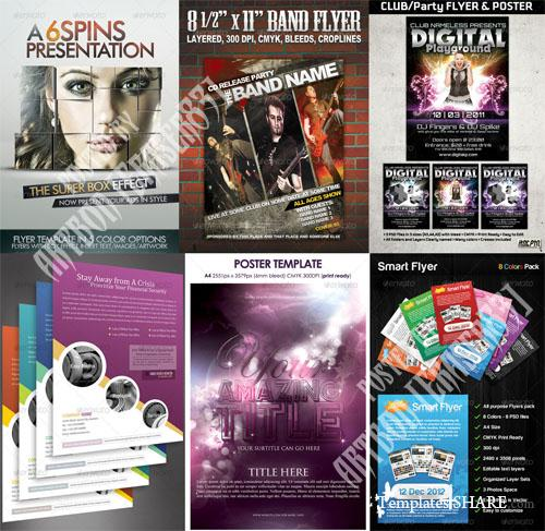GraphicRiver Flyers Templates Pack 5 - REUPLOAD