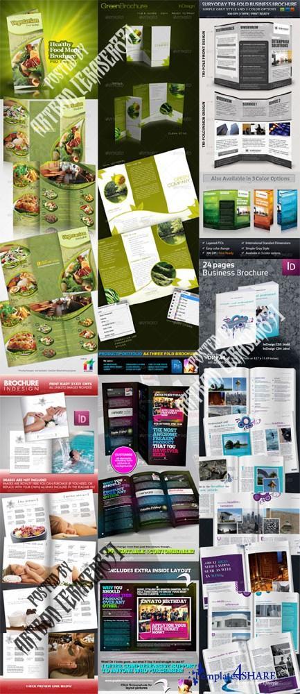 GraphicRiver Brochure Templates Pack 1 - REUPLOAD