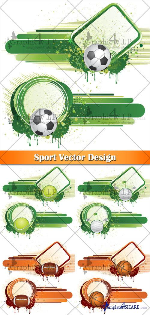 Sport Vector Design - Vector Graphics