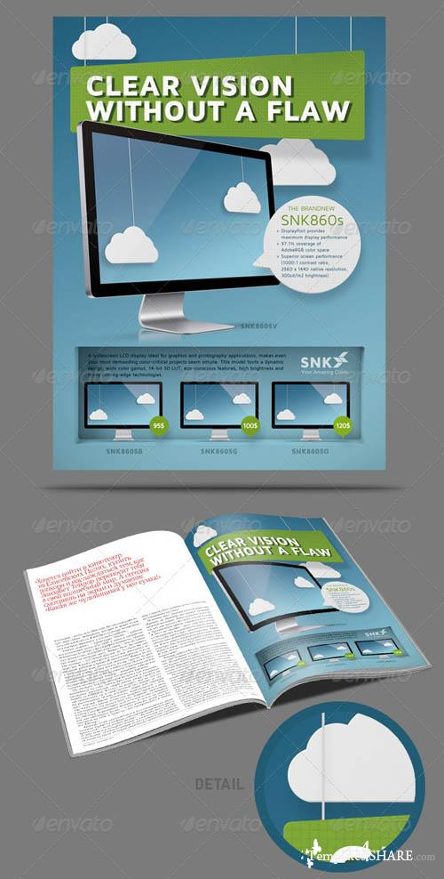 GraphicRiver Magazine AD Construction Set