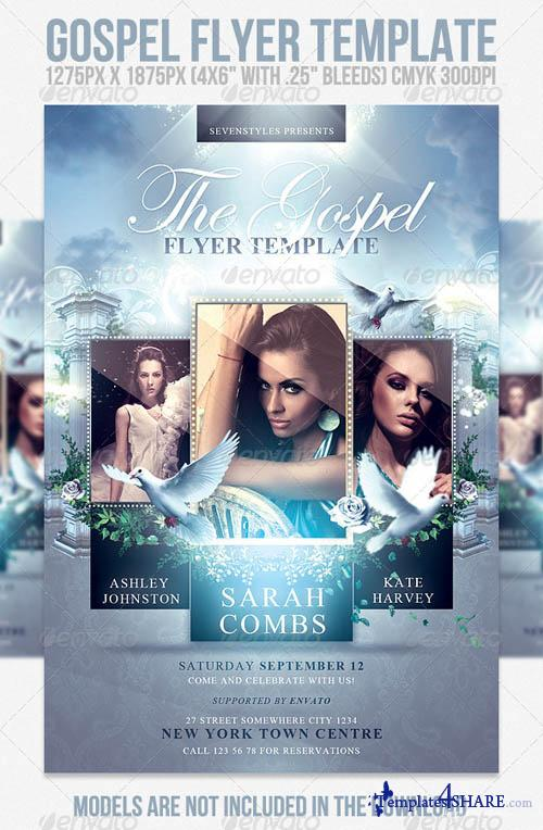 GraphicRiver Gospel Flyer Template