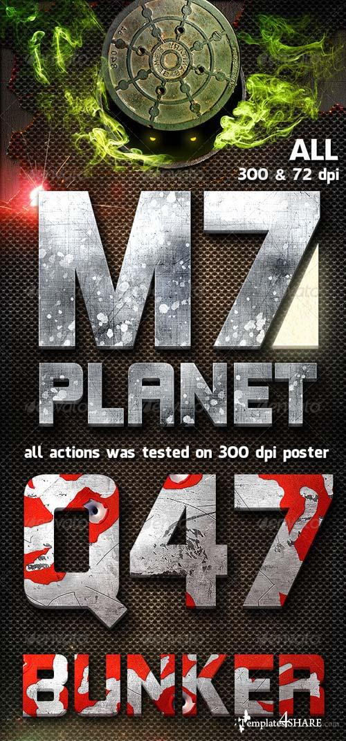 GraphicRiver Sharp Actions 300 & 72 dpi
