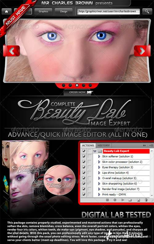 GraphicRiver Complete Beauty Lab Image Expert
