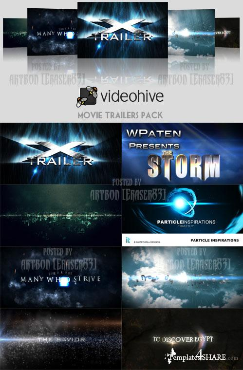 Movie Trailers Pack - Projects for After Effects (Videohive) - REUPLOAD
