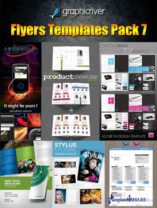 GraphicRiver Flyers Templates Pack 7 - REUPLOAD