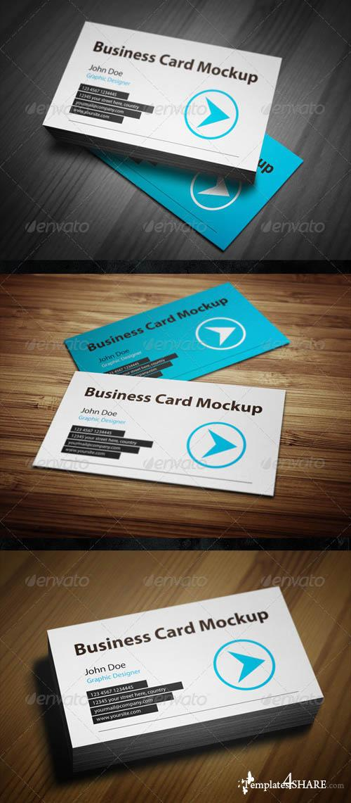 GraphicRiver Business Card Mockup 3