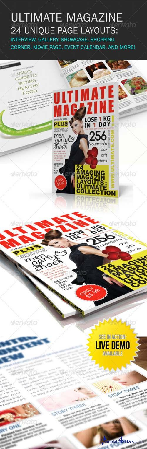 GraphicRiver Ultimate Magazine 24 layouts - REUPLOAD
