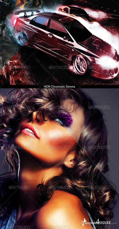 GraphicRiver HDR Legendary Image Action Series 2