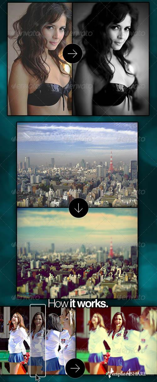 GraphicRiver ReFocus - Tilt Shift + 14 Photo Filters