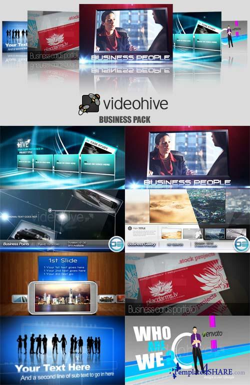 Videohive Projects - Business Pack - REUPLOAD