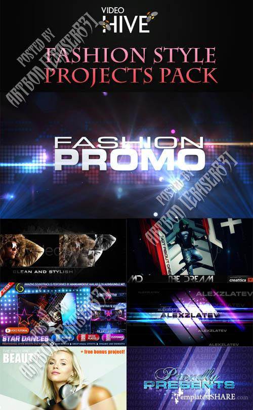 Videohive Projects - Fashion Style Projects Pack 1 - REUPLOAD
